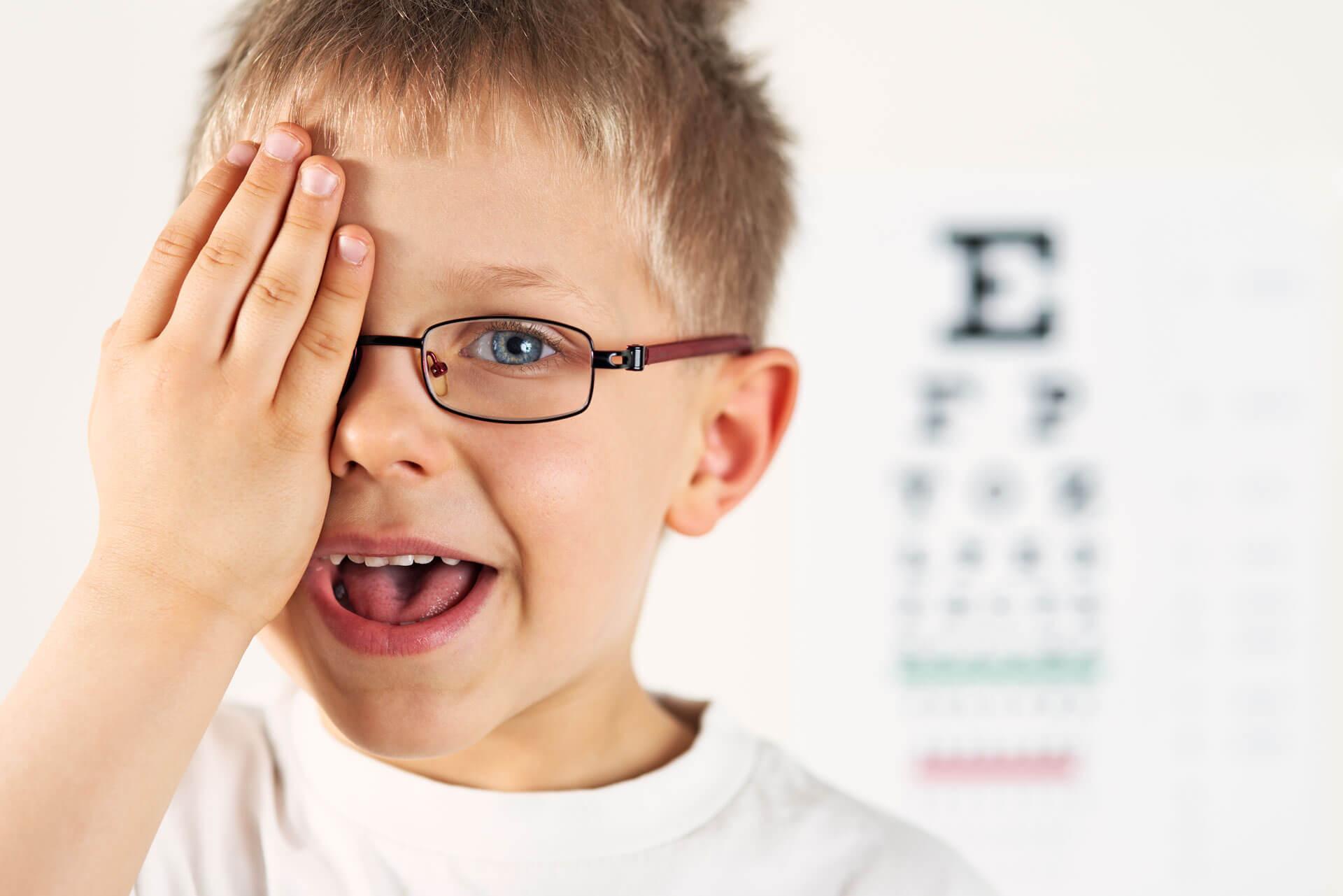 little-boy-eye-exam